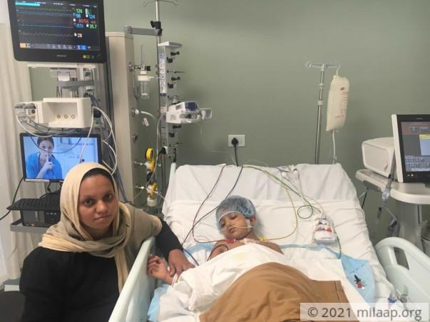 Help 5-year-old Ayisha fight a severe heart disease