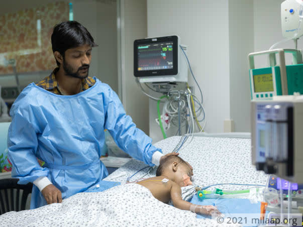 This 18-Month-Old Needs Urgent Help To Be Able To Breathe Again