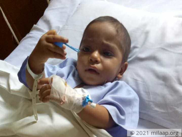 Help 2-year-old Rishu fight liver disease
