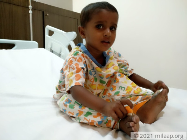 This 2-year-old baby girl needs a heart surgery to survive