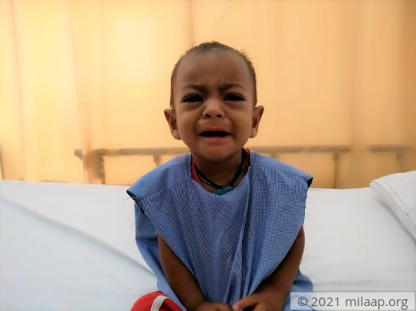 Help This 1-year-old Who Cries In Pain Until He Runs Out Of Breath
