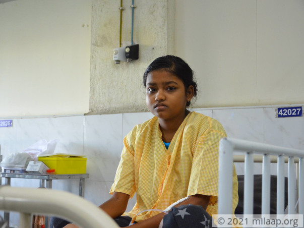 Help 14-Year-Old Varalakshmi Fight Cancer
