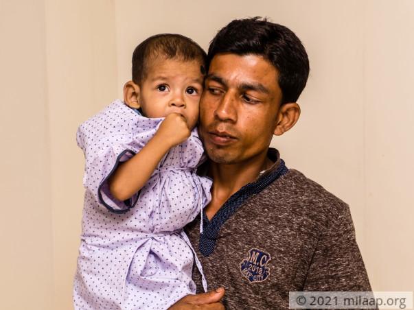 Help Sameerul who needs an urgent heart surgery