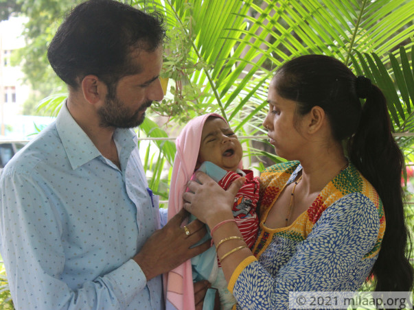 Paramilitary Personnel's 6-Month-Old Baby Needs A Liver Transplant