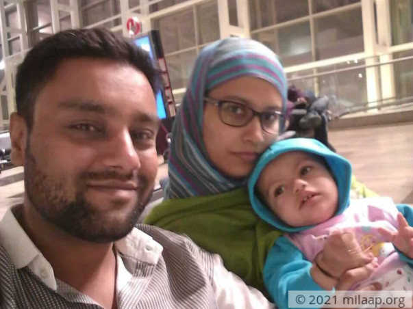 22-months old Fariha may lose her life without your help