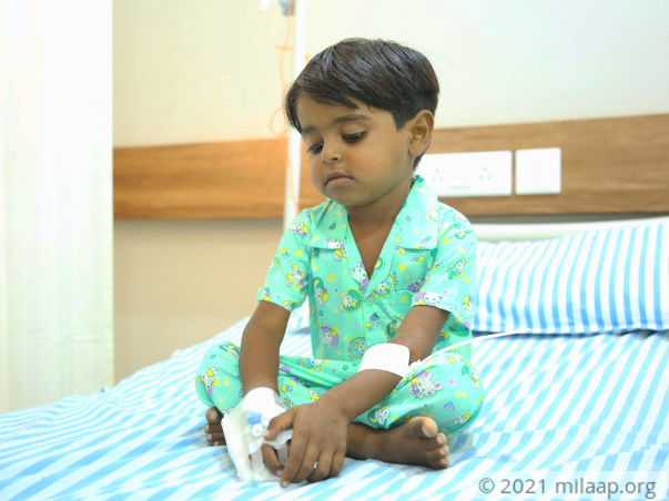 3-Year-Old With Cancer Wants To Go Home Because He Misses Dhoklas
