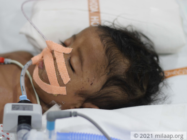 P. Yashwanth needs your help to fight disease