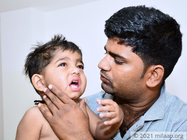 Father Has To Travel 15 Hrs Thrice A Month Just To Keep His Son Alive