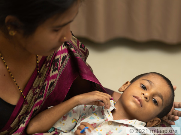 A Charan needs your help to undergo his treatment