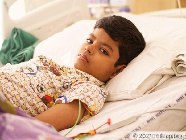 Shoumik Sadhukhan needs your help to undergo his treatment