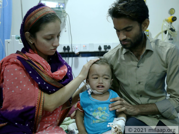 With Your Help, Baby Atif Can Go Back Home Healthy And Happy