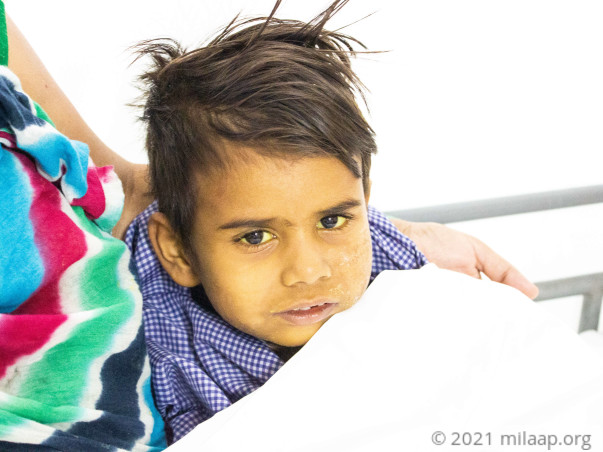 Vishal Chaudhary needs your help to fight disease