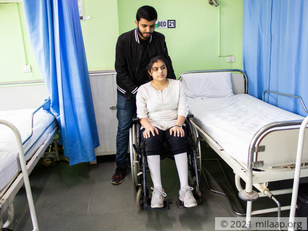 Shubhanjali needs your help to undergo her treatment