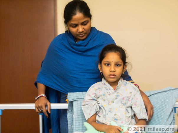 Drushya Sri Kakumanu needs your help to fight disease