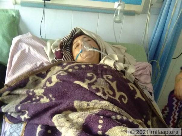 Maya kanjiyani needs your help to undergo her treatment