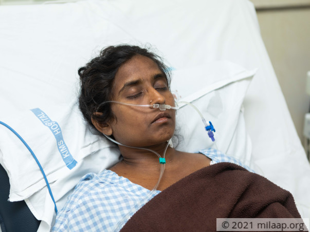 Mother Of Two Children, Has Only 2 Days Left For The Liver Transplant
