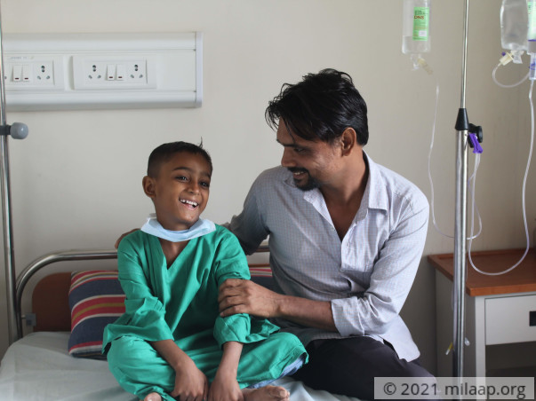 This Father Is Struggling To Save His Son From A Blood Disease