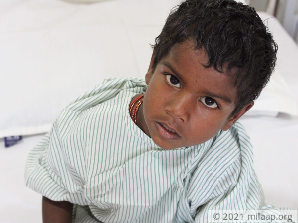 Muneeswaran needs your help to undergo treatment