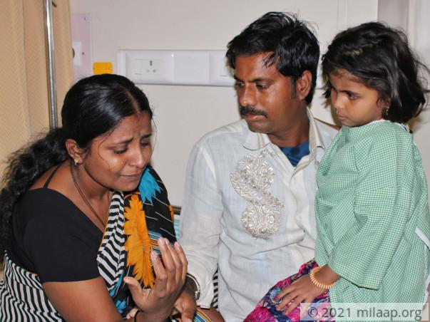 Inchara needs your help to undergo her treatment