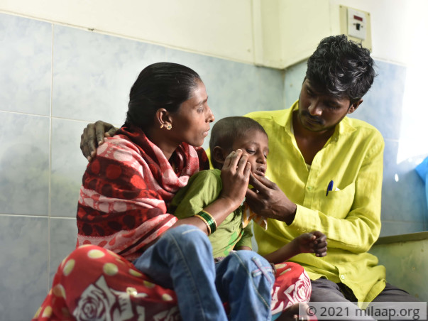 Ashish needs your help to undergo his treatment