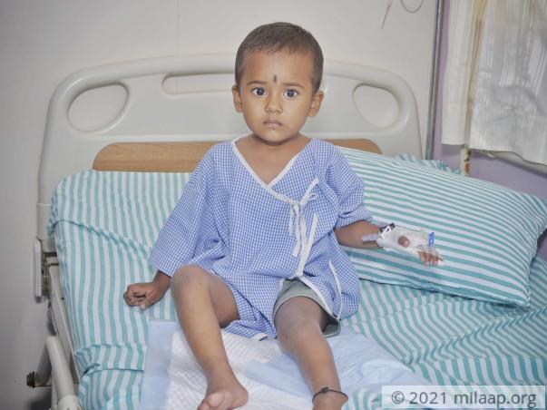 Madhushree needs your help to undergo his treatment