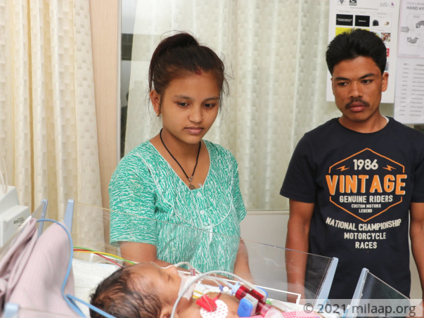 Without Help, Car Washer's 1-month-old Baby May Take His Last Breath