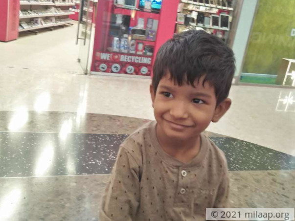 Samarth needs your help to undergo his treatment