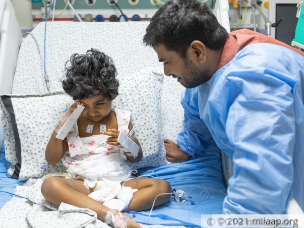Less Than 24 Hours To Save This 4-year-old Girl From Losing Her Life