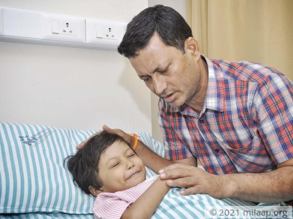 Baby Arohi needs your help to fight disease