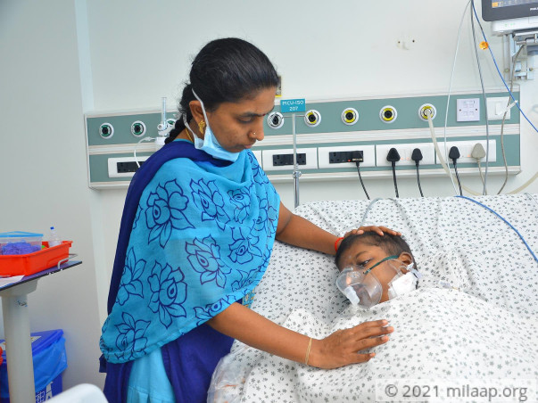 Shruthi needs your help to fight disease