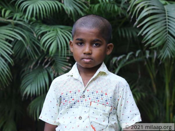 ThiruMurugan needs your help to undergo his treatment