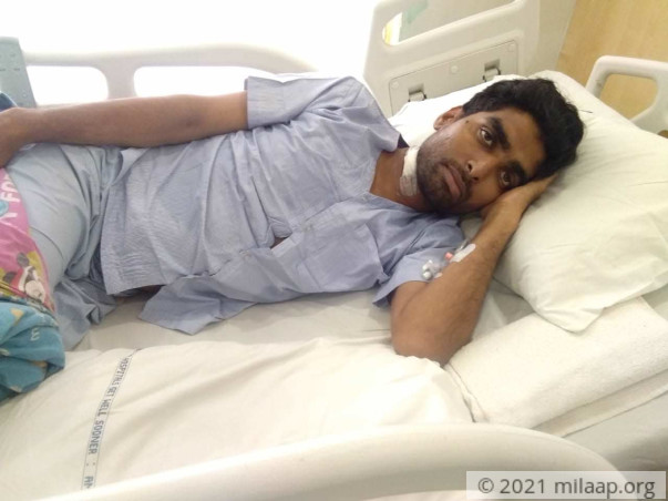 Md Danish needs your help to undergo his treatment