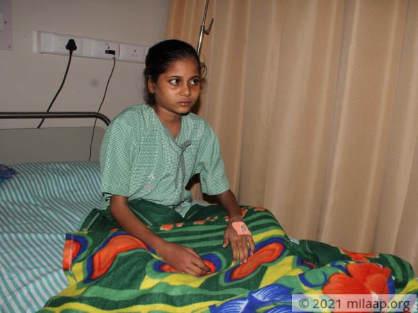Help Nayeema to undergo his treatment