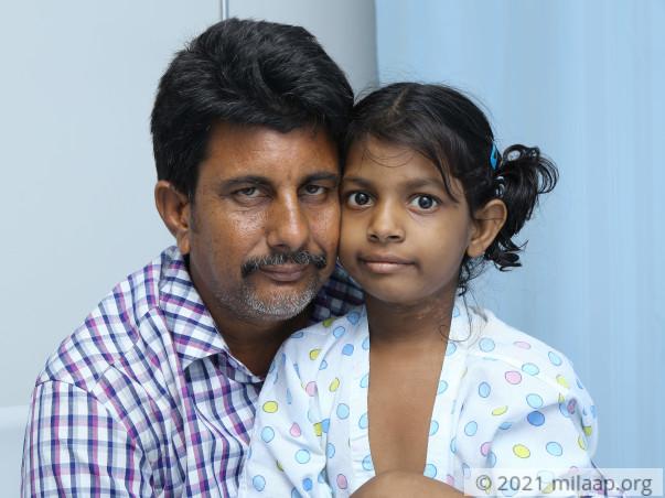 Help Geethika Fight Beta Thalassaemia
