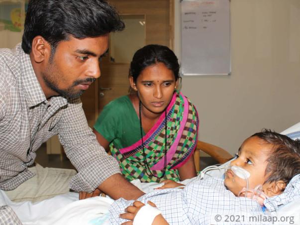 Baby Harshitha needs your help!