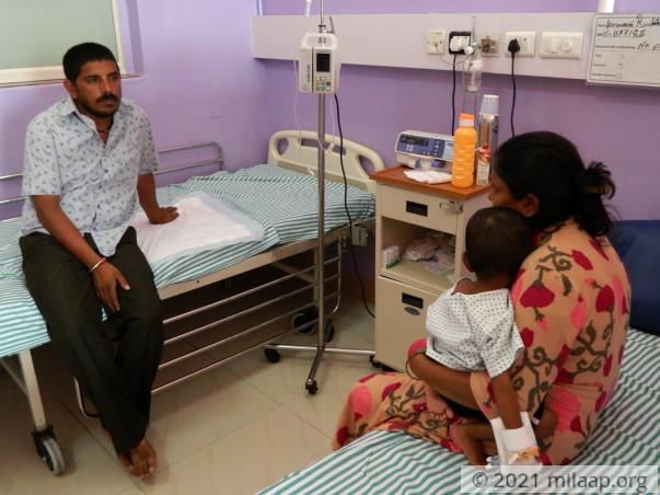 Help Baby Ruchitha Fight Retinoblastoma