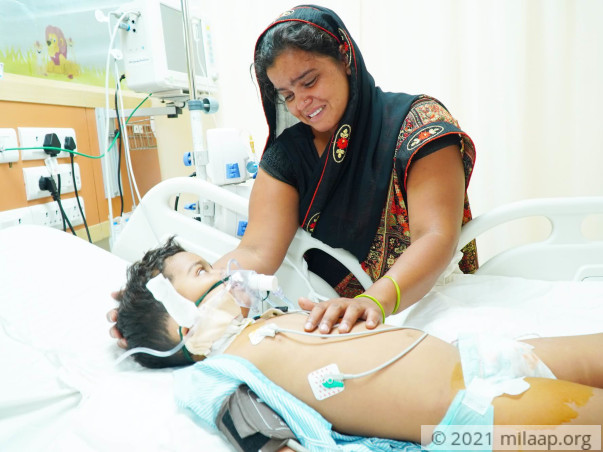 Only Machines Are Keeping This Boy Alive, He Needs Urgent Treatment