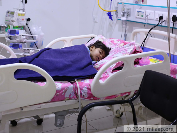 Anaya  needs your help to undergo her treatment