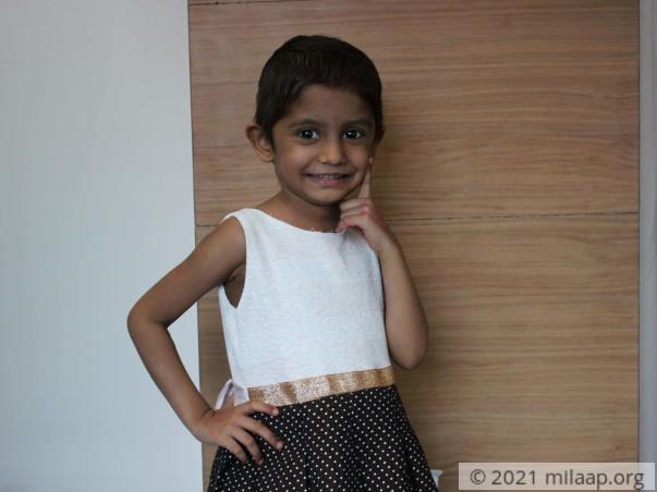 Tashvi Shetty needs your help to undergo her treatment