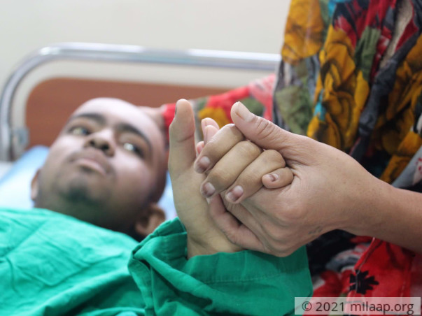 Chandarabhan Sadhal needs your help to undergo his treatment
