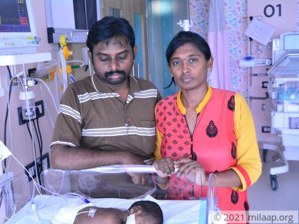 Help Divyabharathi's Premature Baby