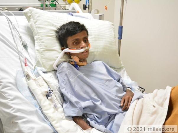 Help Raghava Recover From Pneumonia