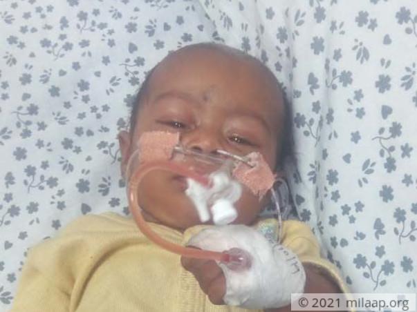 Help Amala's Baby Fight Infantile Dengue With Severe Pneumonia