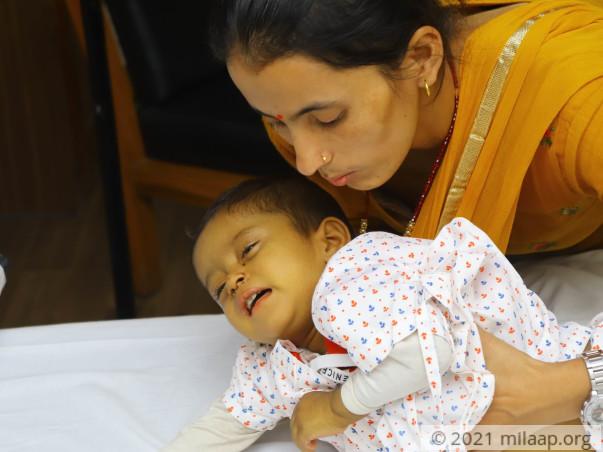 Help Aahan Fight External Biliary Atresia