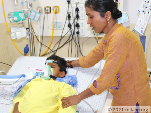 Help Anvith Recover From Liver Failure