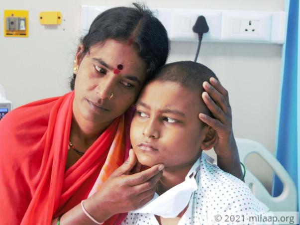 Help Mahesh Fight Acute Lymphoblastic Leukemia