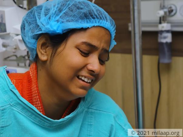 Help Anushka Fight Advanced Chronic Liver Disease