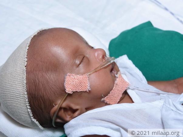 Help Nirmala's Premature Baby Recover