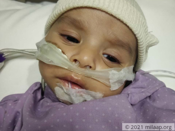 Help Ahaan Recover From Ventricular Septal Defect