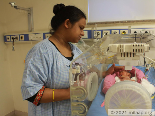 Help Prachi's Preterm Baby Recover